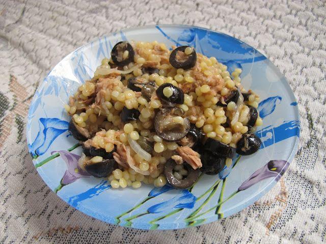 Цвет волшебства - Кулинарная минутка. Птитим с тунцом и маслинами.