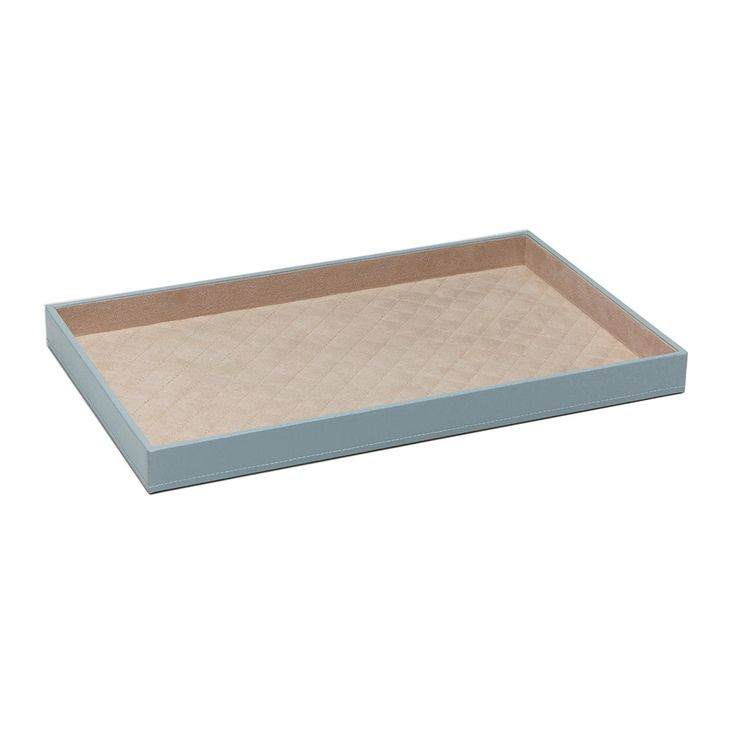54$ Add elegance to the home with this gorgeous London Vanity Tray from Wolf. Made with luxurious leather embossed with a reptile print, this textured tray is designed to be stacked with more trays and ma