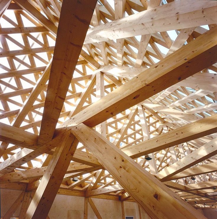 """jensen & skodvin - roof detail at the tautra maria convent, tautra island 2006.  jsa. #architecture #jensenskodvin #norway #timber #interiors #joinery"""
