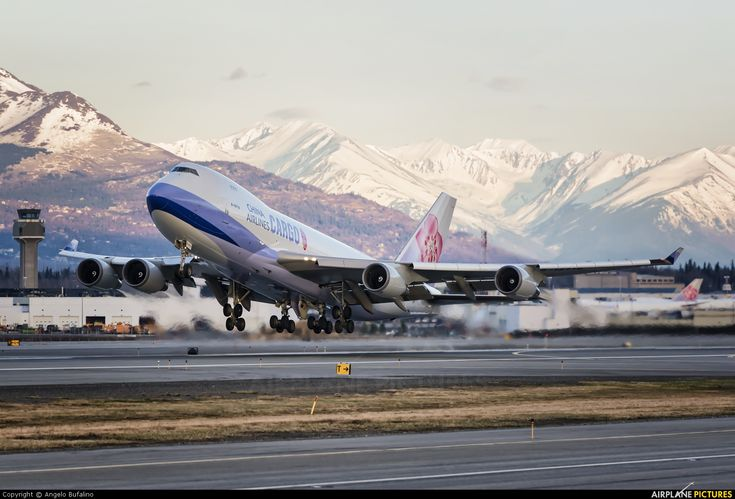 China Airlines Cargo B747-400F (B-18719) at Anchorage - photo by Angelo Bufalino