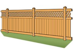 DIY Wood Fencing. Simpson Strong-Tie makes it affordable for you to build a fence that will withstand the test of time, and best of all, complement the character and design of your home. Your style, your way. Building a fence with Simpson Strong-Tie connectors can save you the cost of hiring a contractor and save on long-term costs by adding strength that minimizes repairs.