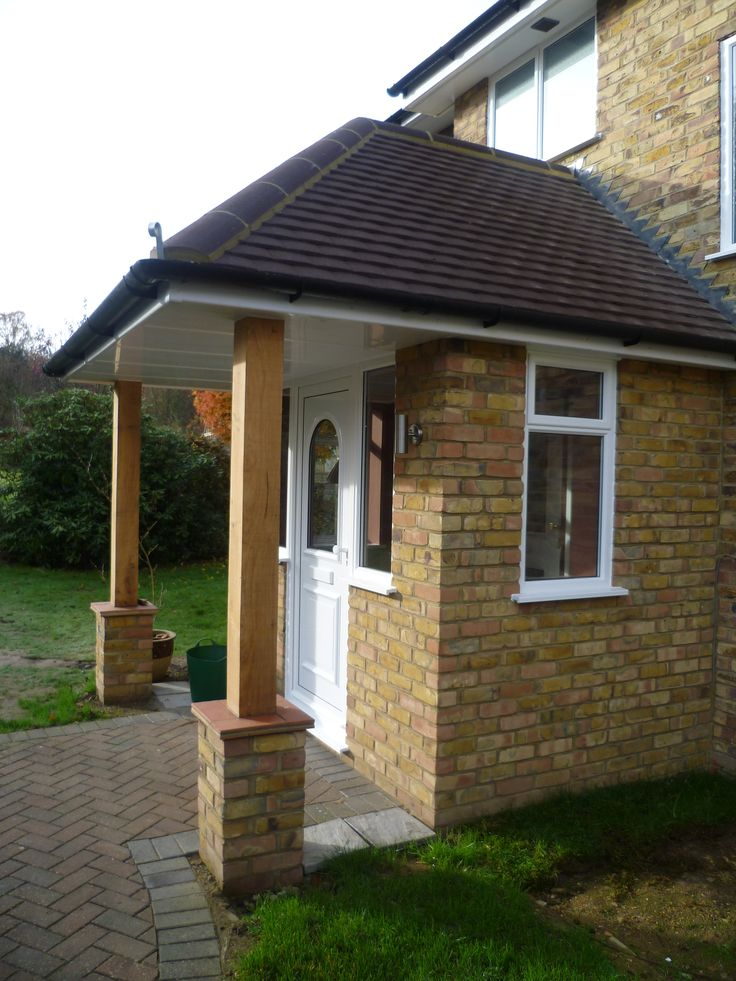 Finished Porch Extension In 2019 Porch Porch