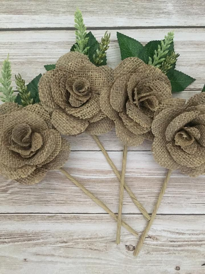 Handmade rustic wedding pin holes