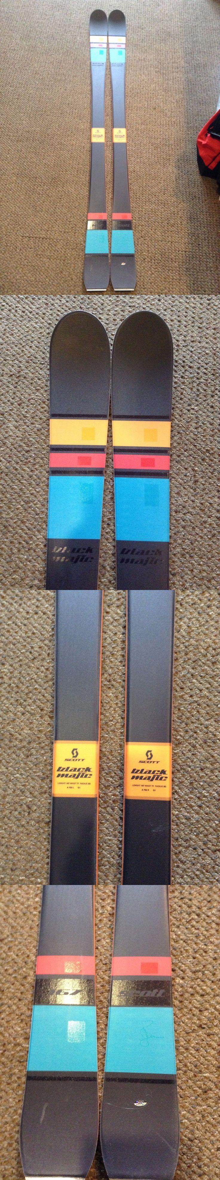 Skis 42814: 2015 Scott Black Majic Mens Skis 167Cm **New Old Stock** -> BUY IT NOW ONLY: $250 on eBay!