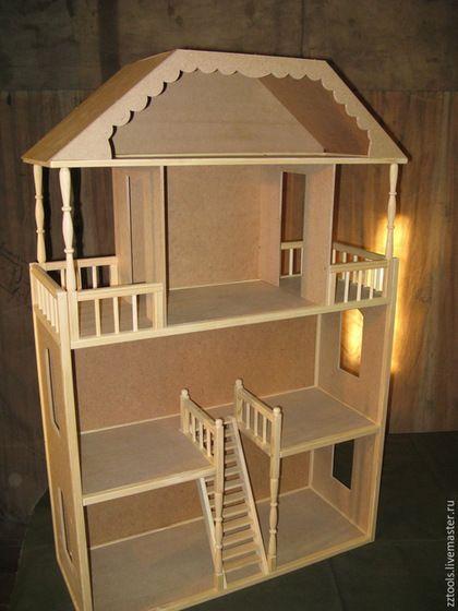 Кукольный дом ручной работы. Ярмарка Мастеров - ручная работа. Купить Кукольный домик № 5. Handmade. Домик для кукол