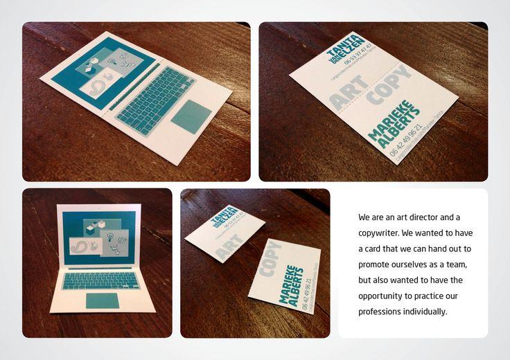 Tanita van den Elzen / Marieke Alberts: Business card