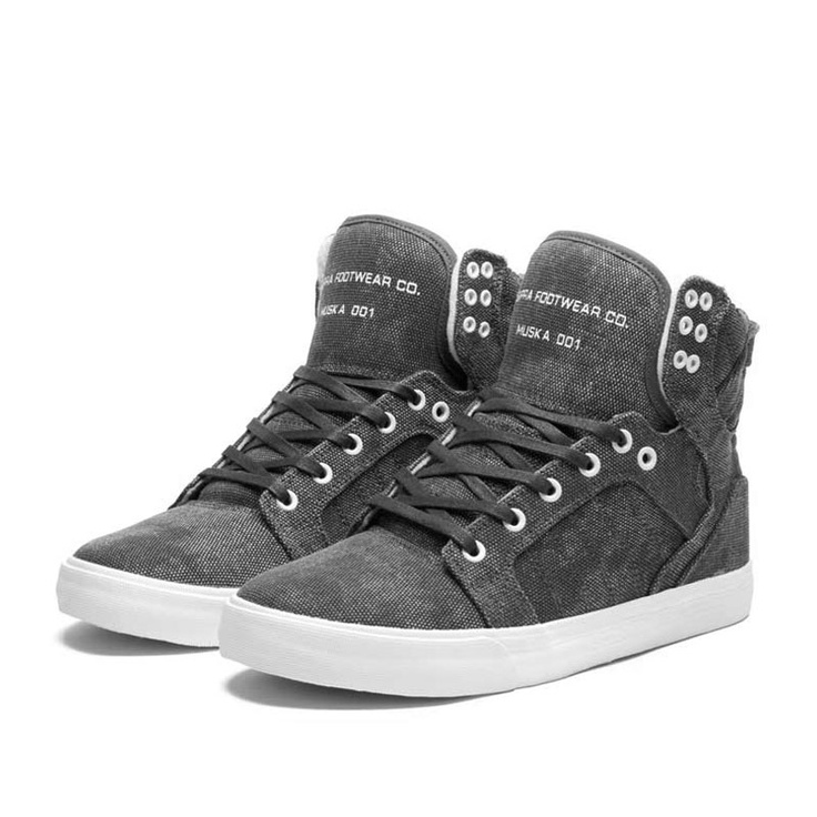 Footwear: SUPRA SKYTOP Shoe -The Supra Skytops offer a unique design and  the comfort of these shoes exceeds the scale. Supra got me hooked.