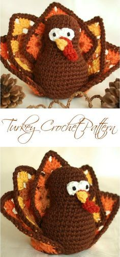Free Thanksgiving Turkey Pattern - Petals to Picots