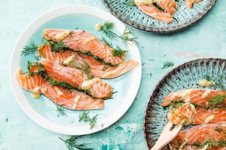 Zalm, dille en mosterd: meer heb je niet nodig - Recept - Allerhande