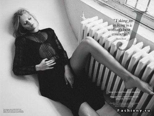 Элегантная Тони Гаррн для Glass Magazine