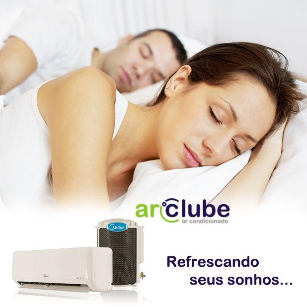 Nada como dormir em um ambiente refrescante! Acesse: www.arclube.com.br