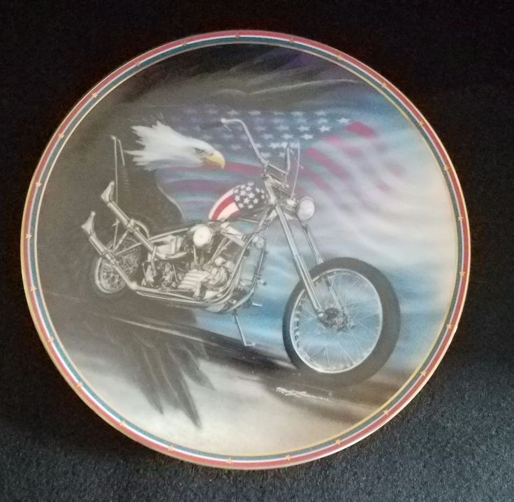 Vintage Numbered Easyriders American Classic Plate Hamilton Collection