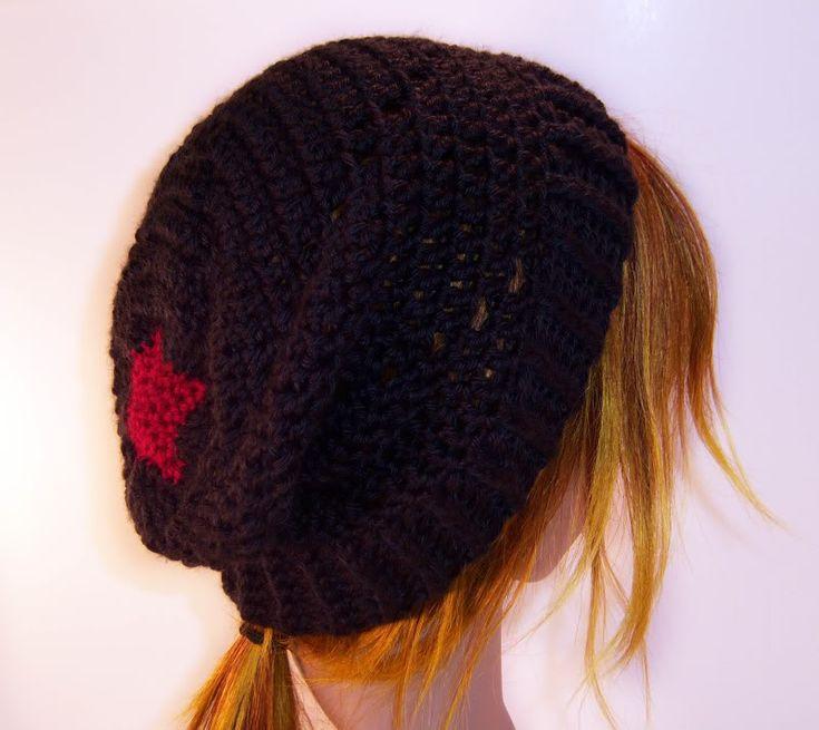 April Draven: Star Spiral Slouch Hat