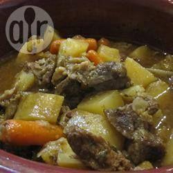 Rezeptbild: Eintopf mit Rindfleisch, Kartoffeln und Karotten aus dem Slow Cooker