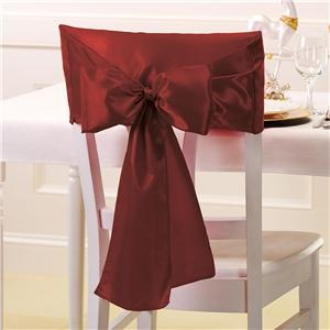Holiday Chair Covers - Burgundy - home decor