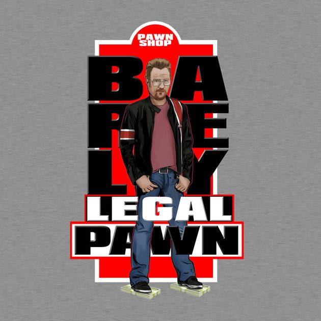 Check out this awesome 'Barely+Legal+Pawn+' design on TeePublic! http://bit.ly/1rF539N