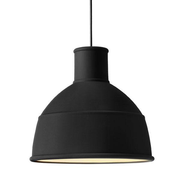 Unfold lamp, black