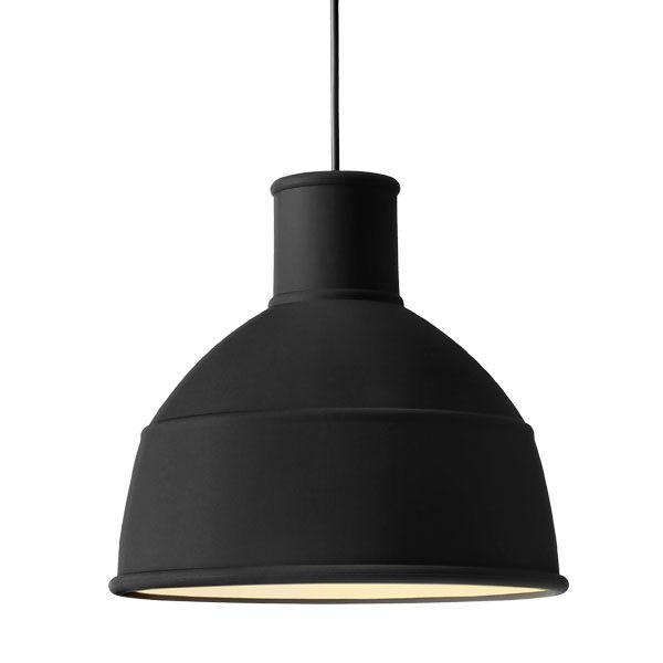 Unfold lamppu, musta