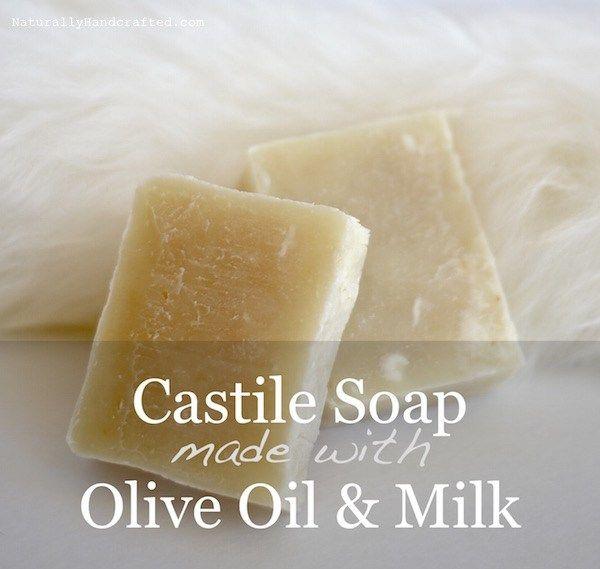 2 homemade castile soap bars | Soap recipes | Castile soap