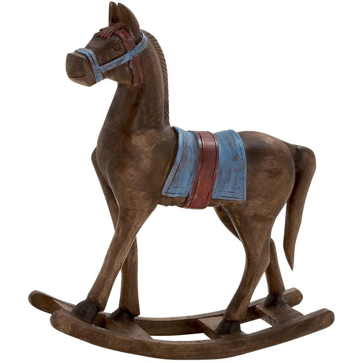 Simply Delightful Wood Rocking Horse