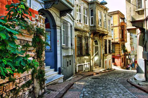 Ancient Street, Istanbul, Turkey