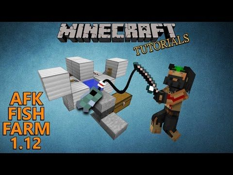 Minecraft 1 12 AFK Fish Farm Tutorial (Also Works On Consoles