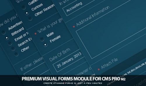 CodeCanyon - Visual Forms Module for CMS pro! v1.30
