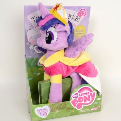My Little Pony Friendship is Magic: Twilight Sparkle Princess Plush Toy (30cm)
