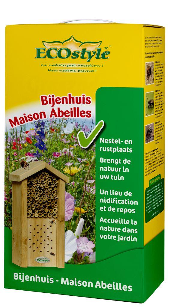 Het bijenhuis voor meer biodiversiteit in uw huis! #Bijenhuis #biodiversiteit #ECOstyle