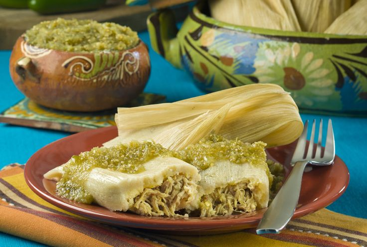 Pork Tamales – This pork tamales recipe is one of our most popular for Las Posadas Navideñas. Why? Because the verde cooking sauce makes the prep easy and adds amazing flavor.