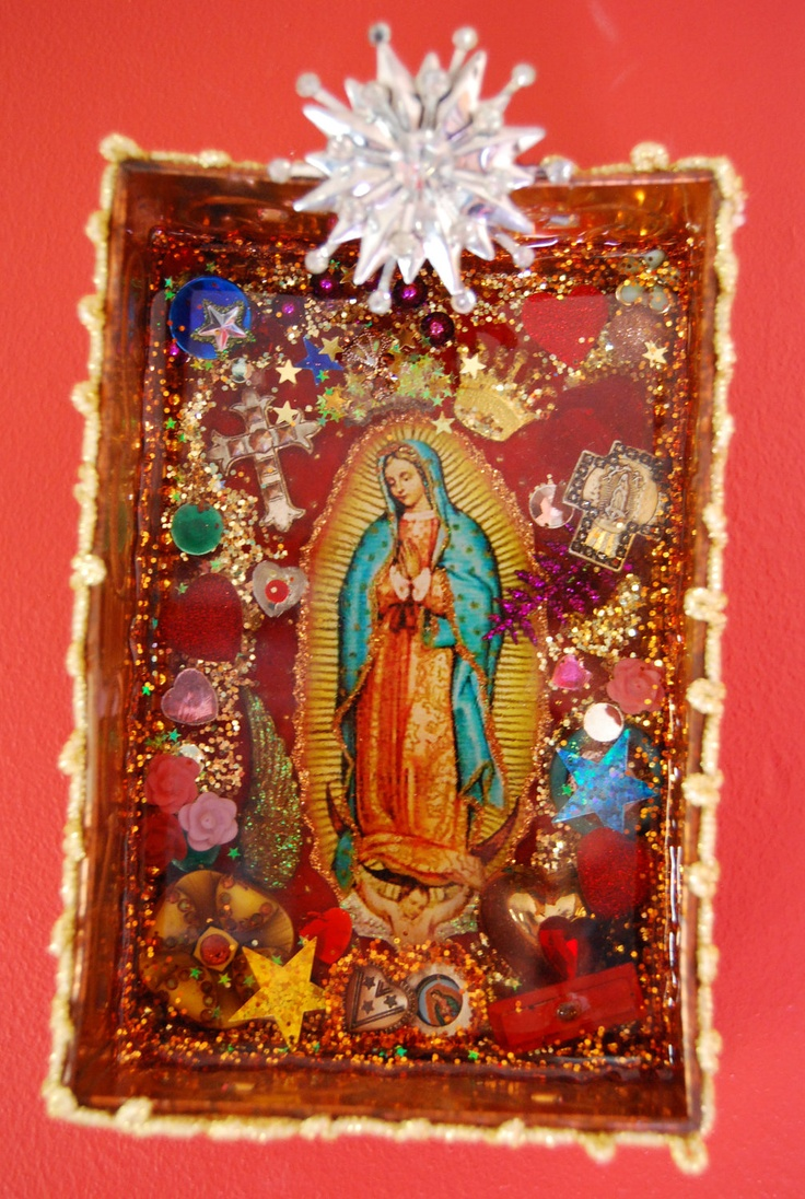 100 best images about diy mexican inspired crafts on for Our lady of guadalupe arts and crafts