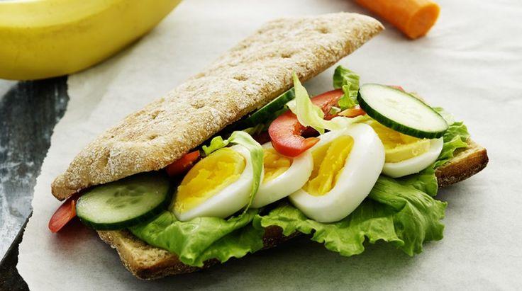 Sandwichbrød / subs med æg