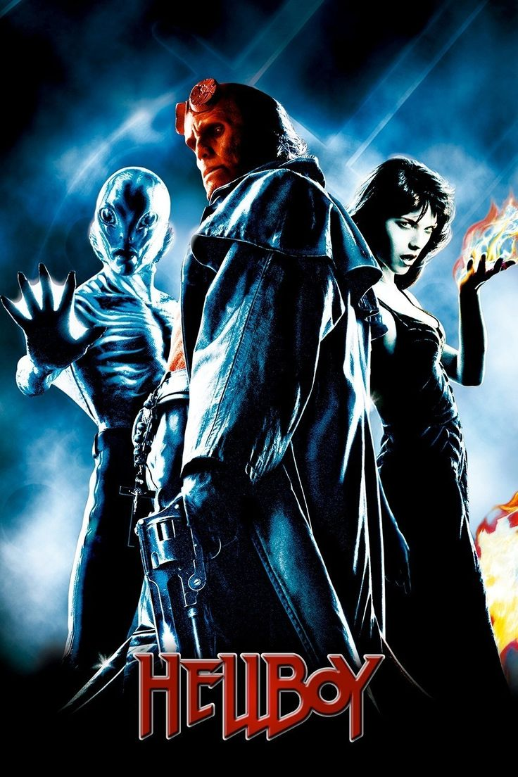Hellboy  Full Movie. Click Image To Watch Hellboy 2004