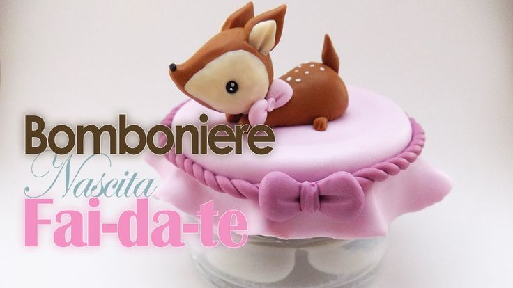 Bomboniera nascita fai da te | DIY birth favour | Tivibi - YouTube