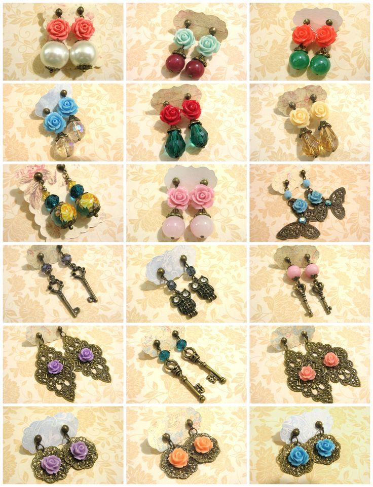 Earrings http://arymomo.dawanda.com www.arymomo.blogspot.com