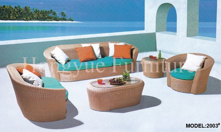 Find More Rattan / Wicker Sofas Information about Rattan garden sofa set furniture with cushion and pillows sale,High Quality sofa bed,China sofa seat cushion cover Suppliers, Cheap furniture sofa recliner from Hongyue Cane Skill Furniture on Aliexpress.com