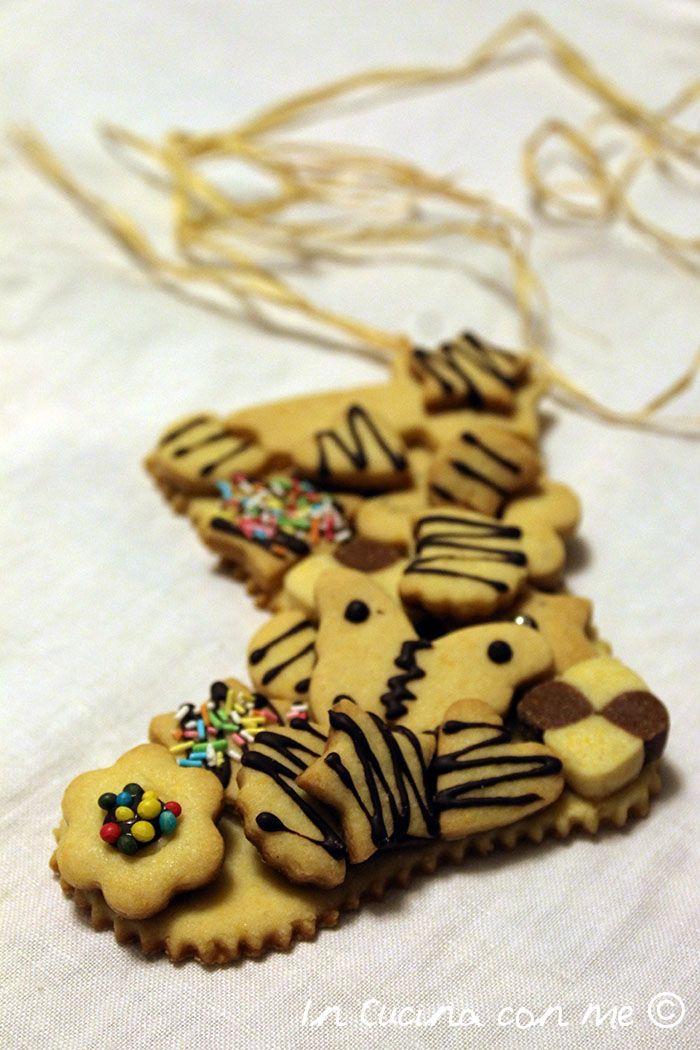 Calza della Befana in biscotto #cookies #biscotti #natale
