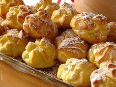 Профитроли — заварные пирожные   Рецепты для Вас!