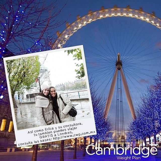 National Slimmer Of The Year!!!!!! Cambridge los invita a que compartan su historia de como la dieta Cambridge ha cambiado su vida !!! El ganador recibirá un viaje a Londres por 4 días todo pagado ✈️!!! Para más información inbox o correo!!!!! Anímate!!!!