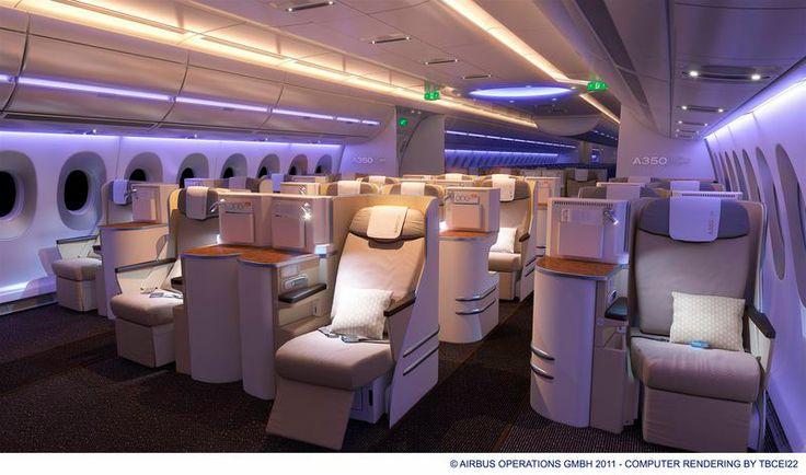Tjuvtitta in i Airbus nya superplan A350 XWB – som bland annat SAS och Finnair har beställt. http://www.aftonbladet.se/resa/flyg/article18684377.ab