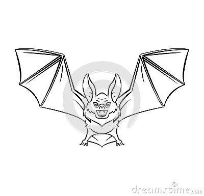 bat tattoo flash - Google Search