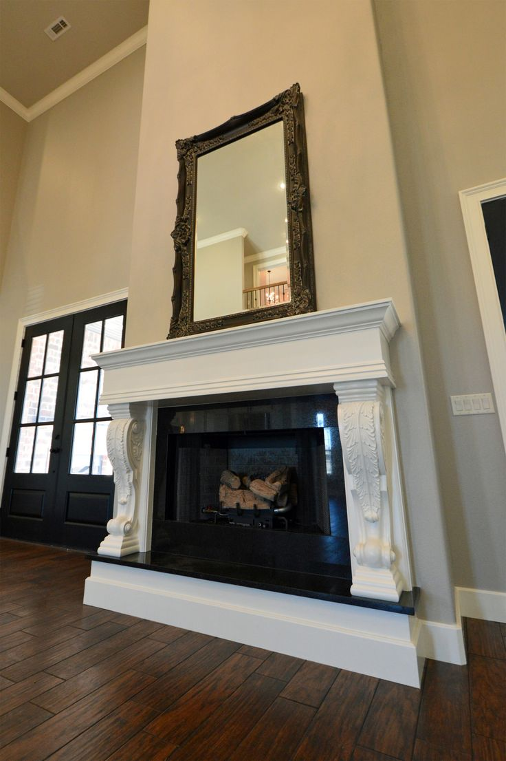 Open Floor Plan Featuring Wood Look Shaw Porcelain Tile