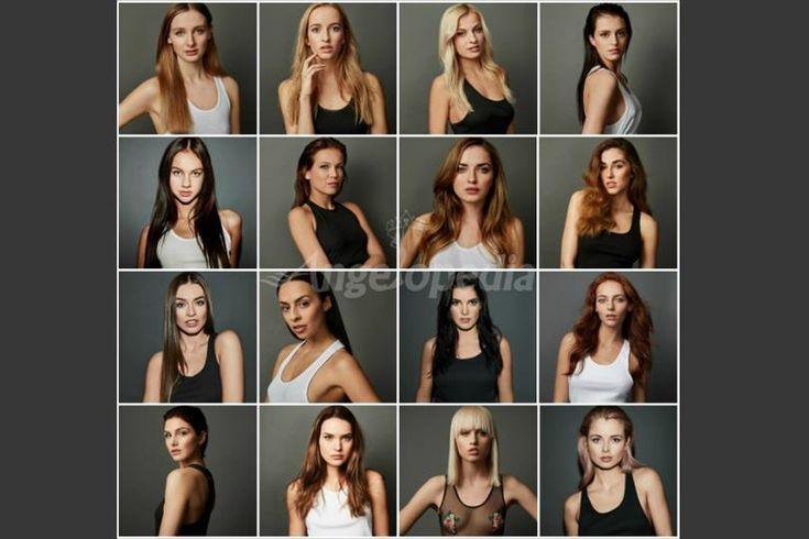 Ceska Miss 2017 Portrait Shoot