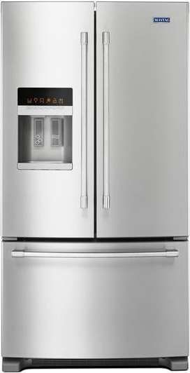 Lowest price on Maytag MFI2570FEZ 25.0 Cu. Ft. Fingerprint Resistant Stainless Steel French Door Refrigerator. Shop today!
