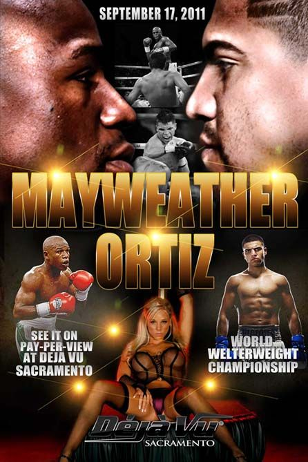 Mayweather vs Ortiz. Boxing Posters