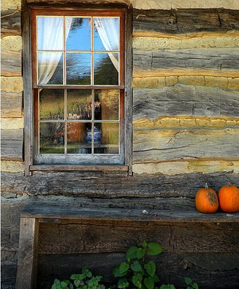 279 best images about western hand hewn cabins on pinterest for Log cabin window