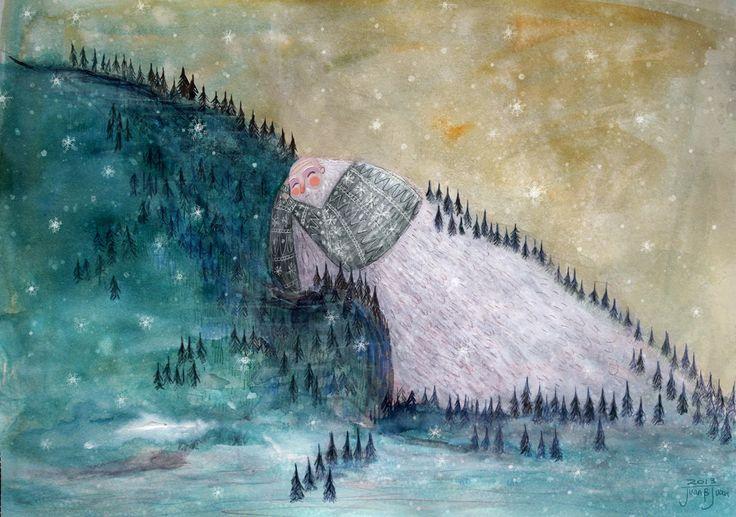 sleeping old mountain