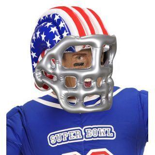 Casque footballeur américain gonflable