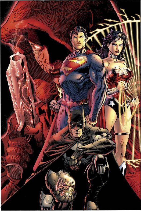 Primera muestra del arte de Jim Lee para la carátula de DC COMICS-THE NEW 52 FCBD EDITION