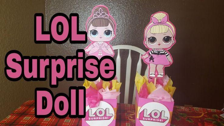 DIY LOL Überraschungspuppe Mittelstücke – YouTube   – Olivia's 5th Birthday … – LoL Dolls